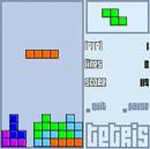 Tetris Clasico De Arcade